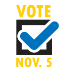 Vote Nov. 5 - Color